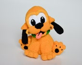 Crochet PATTERN - Baby dog pattern by Krawka,