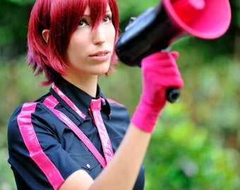 Vocaloid Meiko cosplay, full costume, Love is War, Halloween Party, used