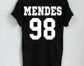 Shawn Mendes 98 T-Shirt Jersey Style Tee Life of the party Handwritten Unisex Men Women Girls Boys Ladies Instagram tumblr pinterest twitter