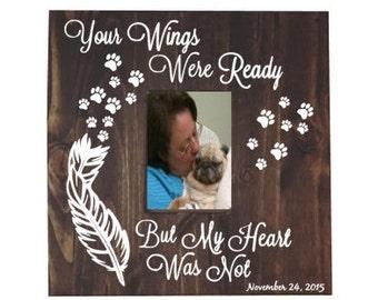 Pet Memorial Picture Frame - Bereavement Pet Gift - Pet Bereavement - Pet Memorial - Pet Memorial Frame - Pet Memorial Gift - Pet loss Frame