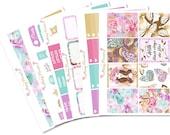 Butterfly Lover Full Planner Sticker Kit for Erin Condren, Happy Planner, Filofax, Kikki K etc