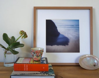 Coastal Beach Art, Fine Art Photography, Limited Edition, Abstract Coastal Art, Sea Blue Print, Giclee, Beach Decor, Beach Wall Art, Ocean