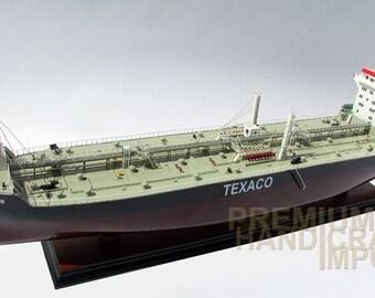 """Texaco Stockholm Oil Tanker Ship Model 32"""""""