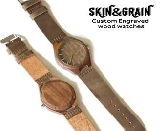 Boyfriend Gift, Men's Watch, Wood Watches, Mens Watch, Wood Watch, Gifts for Him, Wood Watches, Husband Gift, Engraved Watch, Wood Watch Men