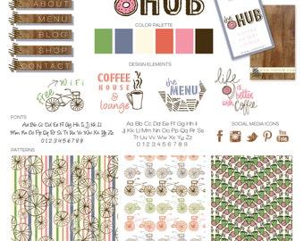 branding kit branding logo website design package