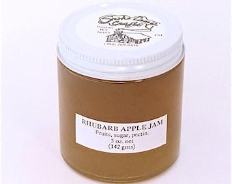 Rhubarb Apple Jam