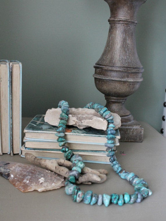 Turquoise stone home decor beads - Turquoise decorations for home ...