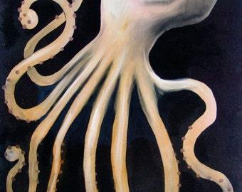 Art Print - Octopus - 8.5x11