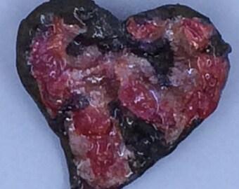 Resin Heart Pin
