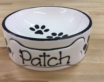 Personalised Pet/Dog Bowl