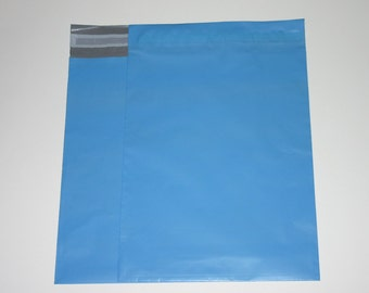 50 10x13 Poly Mailers  Blue  Self Sealing Envelopes Valentine Spring