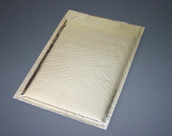 20 6x9 Silver Metallic Oversized Bubble Mailers Size 0 Self Sealing Shipping Envelopes