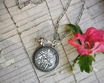 Let Your Light Shine - original design necklace