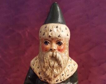 Vaillancourt Chalkware Santa Ornament