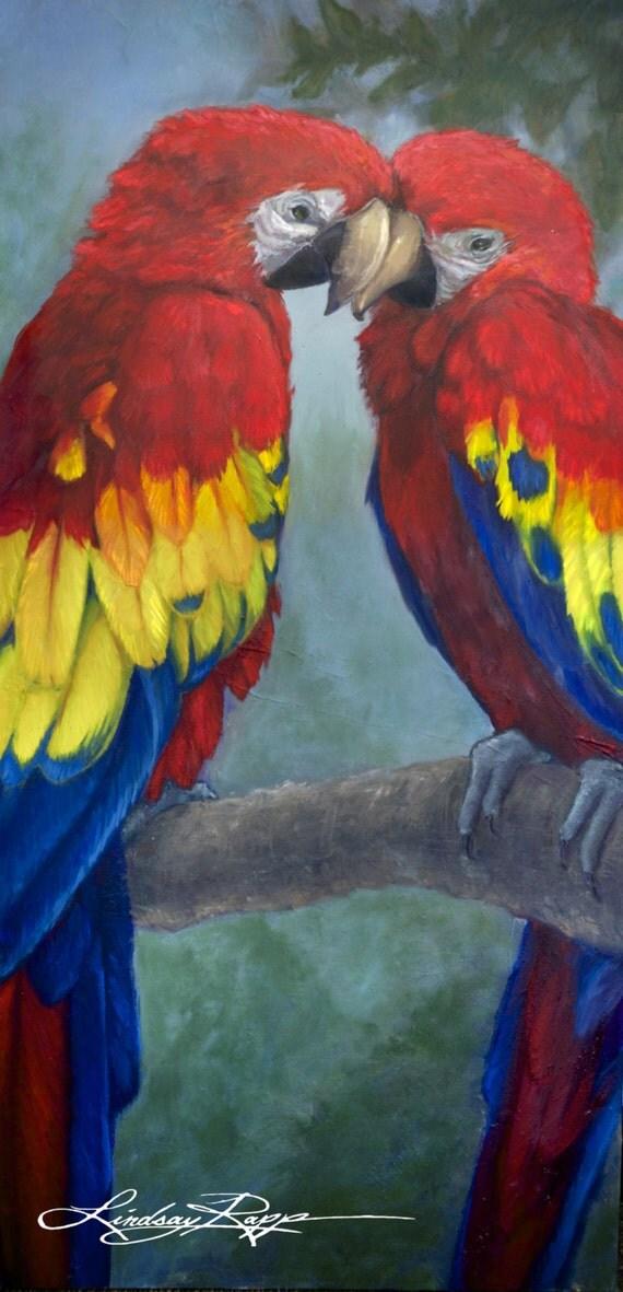 Love Birds ~ Original Painting