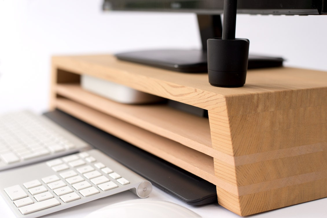 Ultimate Display Monitor Stand With Mac Mini Wacom Drawing