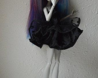 Black dress for Monster High