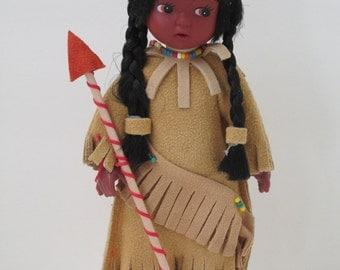 Vintage American Indian doll