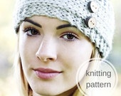 Knitting Pattern - Headband, Ear Warmer // Wanderlust