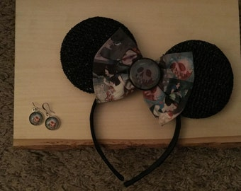 Snow White poison apple Mickey ears