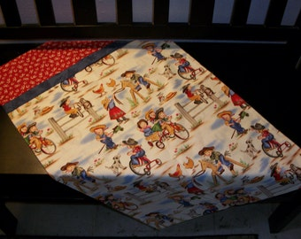 Cowboy and Cowgirl Pillow Cases