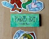 Kokiri Kit - Zelda Sticker Pack