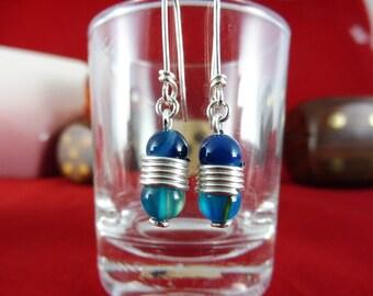 """Earrings with Agate Beads - """"Theia"""", """"Hera"""" & """"Aphrodite"""""""