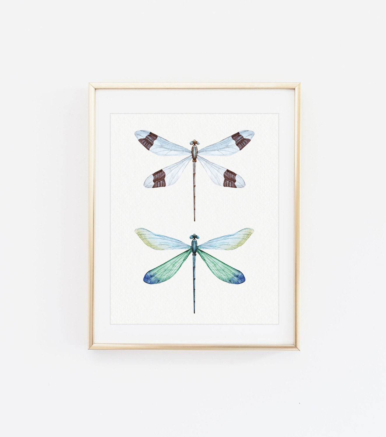 Dragonfly wall art printable dragonfly art affordable home for Dragonfly wall art