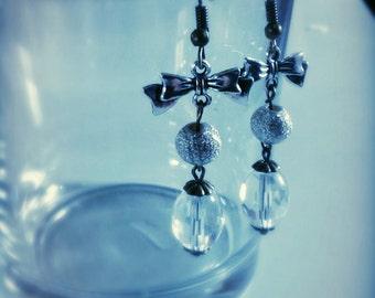 """Handmade earrings """"Snowflake ice"""""""