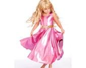 Aurora - sleeping beauty - Pink twirling costume - Princess costume - pink dress - girls twirl dress - Disney costume - Disney princess