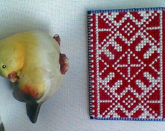 Cross stitch magnet\\Embroidery magnet\\Ethno gift\\Refrigerator magnets\\