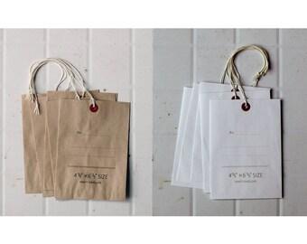 Classiky Tag Envelope Set - Natural - White