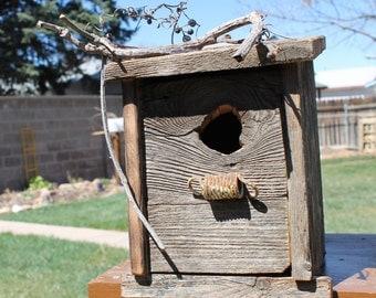 Rusty Spring Birdhouse