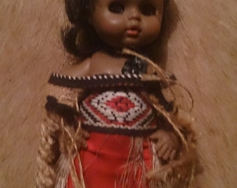 National Costume Doll -