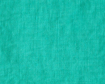 MINT GREEN European Softened Linen