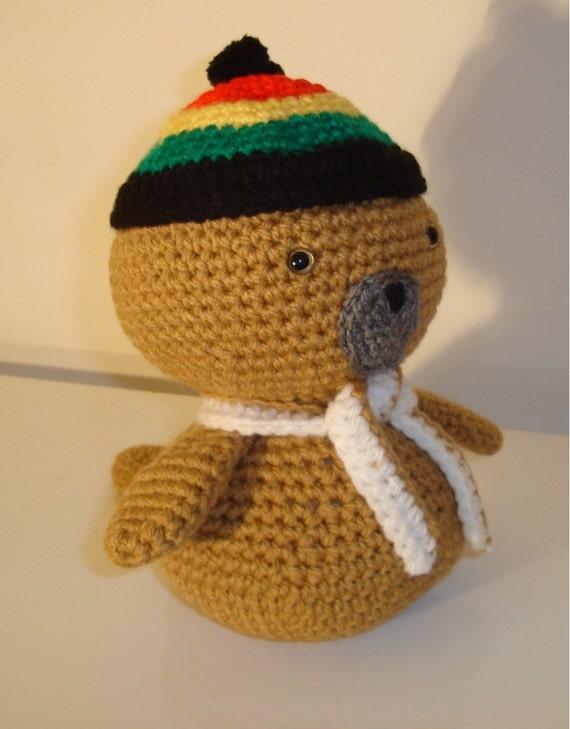 Baby Seal Amigurumi Seal Crochet Handmade Soft by ...