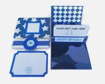 Money gift card, Money card, Gift card holder, Gift for him, Money holder, Gift card holder for men, Pop up gift card holder, Gift envelopes