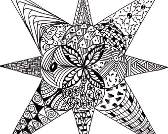 Coloring Page Doodle #12