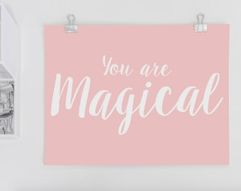 Sweet Postcard 'You Are Magical'