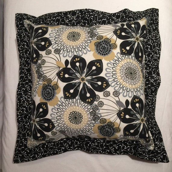 Mid Century Modern Pillows Etsy : Down-filled Contemporary Accent Pillow Mid Century Modern