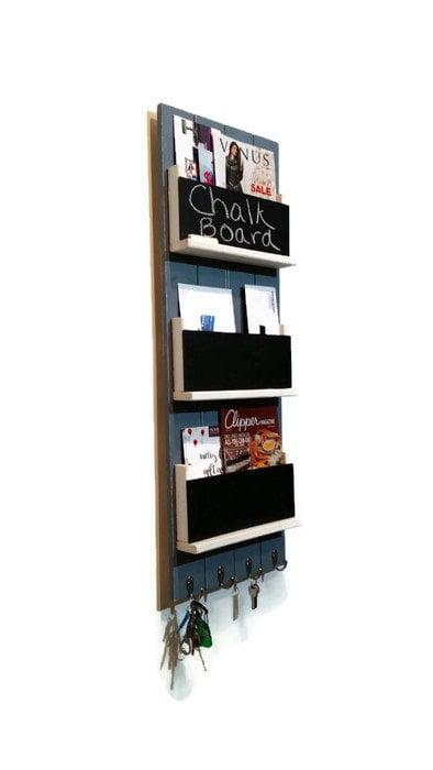 Renewed Decor Sydney Wall Mounted Magazine Or Book Rack