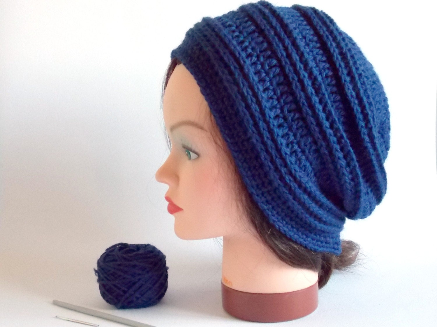 How To Crochet A Beanie Tutorial Beginner Friendly : PATTERN: Beginner friendly crochet horizontal Ribbed