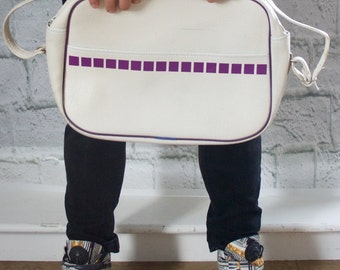 White Messenger Bag