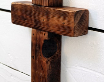 Cross of Reclaimed Wood