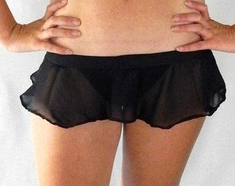 Black Fox - Micro Skirt