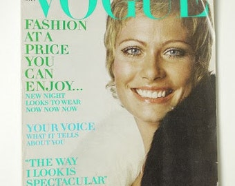 Vintage Vogue Magazine Susan Schoenberg November Nov 1, 1969 Fashion