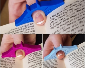 Cat Page Holder - 3D Printed, Cat gift, Book gift, Page holder, Bookmark, Book Ring