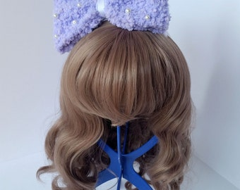 Large Fluffy Head Bow - Multiple Colors