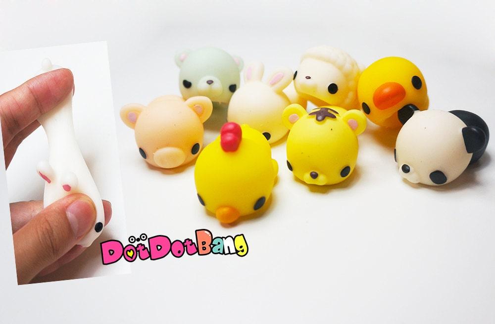 Squishy Little Animals : Kawaii Mochi Animal Squishy Supplies Panda Sheep by DotDotBang