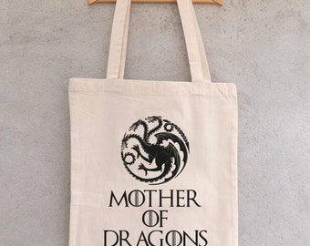"Tote Bag ""Mother of Dragons"" - shopping bag"